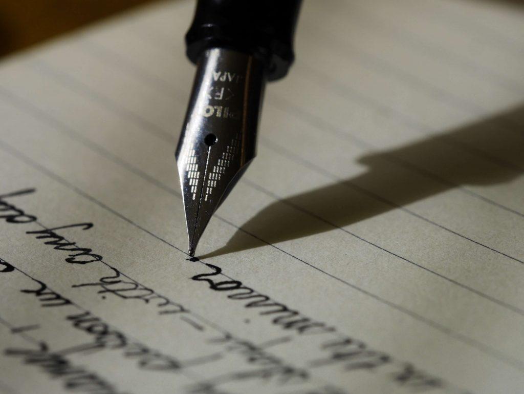Een pen